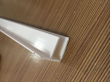 Colorful Waterproof PVC Extrusion Profiles F Style UV Protect 150G / M