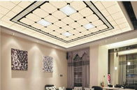 Shops Decorative Suspended Ceiling Tiles With Aluminum Alloy 1100 Material