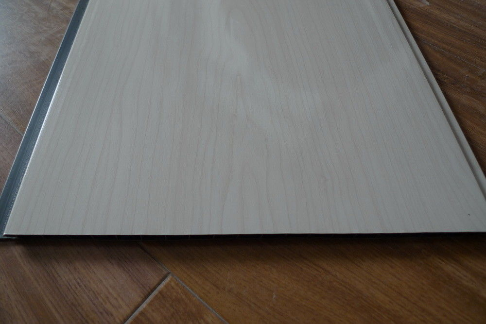 Integrated Decorative PVC Wall Panels For Living Room , Laminated PVC Wall Sheets